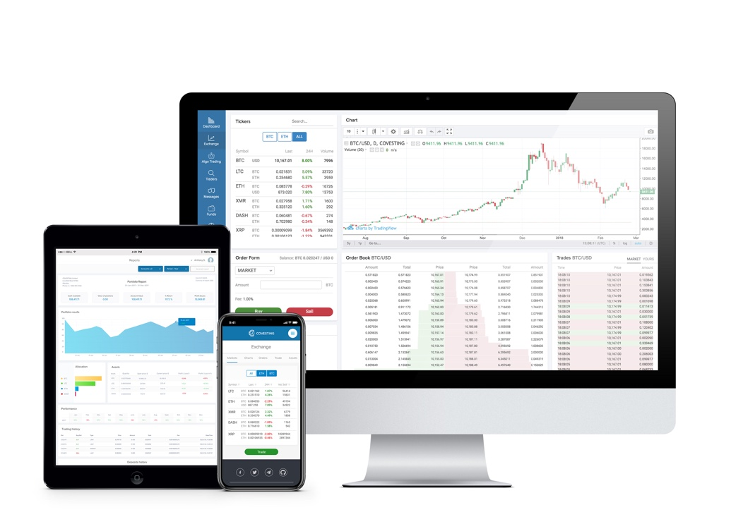 Covesting Cryptocurrency Trading Platform